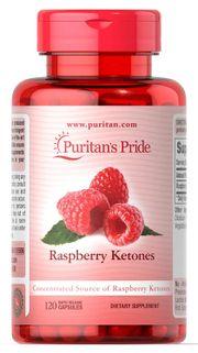 Viên uống hỗ trợ giảm cân Puritan's Pride Raspberry Ketones 100mg