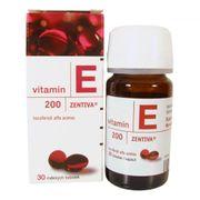 Vitamin E Đỏ Zentiva 200mg Chính Hãng Của Nga Hộp 30 Viên
