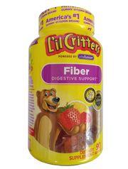 Kẹo dẻo Gummy Fiber cho bé L'il Critters bổ sung chất xơ 90 viên
