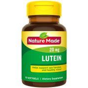 Viên hỗ trợ mắt Lutein 20mg Nature Made Mỹ