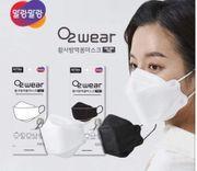 Khẩu Trang O2 Wear Hàn Quốc Lọc Bụi Kháng Khuẩn