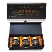 Cao linh chi GOLD Korean Youngji hộp gỗ đen Hàn Quốc