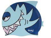 Nón bơi trẻ em Fashy silicon hình cá đủ màu