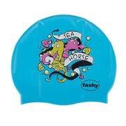 Nón bơi trẻ em sinh vật biển Fashy Silicon mềm