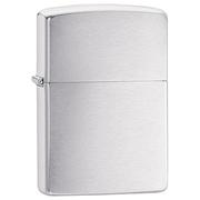 Zippo Classic Brushed Chrome 200 mạ chrome xước vân ngang
