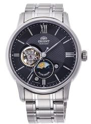 Đồng hồ Orient Sun & Moon automatic Black Dial RA-AS0002B cho nam