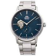 Đồng hồ Orient Maestro Open Heart Blue RA-AR0101L lộ máy