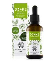 Vitamin D3 + K2 Nature Love - hỗ trợ phát triển chiều cao