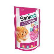 Cát thủy tinh vón cục Sanicat hương thơm mát cho mèo