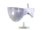 Combo 10 máng uống nước tự động cho chim bồ câu bằng nhựa