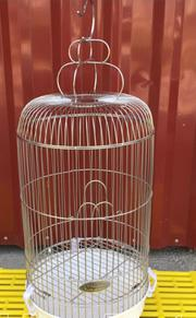 Lồng nuôi chim vành khuyên bằng inox không gỉ