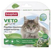 Dung dịch nhỏ gáy ngừa ve cho mèo lớn Veto Pure