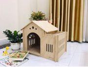 Nhà gỗ cho chó mèo THP068 từ 0 - 20kg