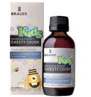 Siro Brauer Kids Chesty Cough cho bé trên 2 tuổi 100ml