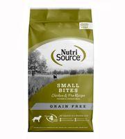 Thức ăn hỗn hợp NutriSource Small Breed Chicken Grain Free cho chó