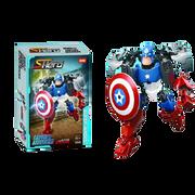 Bộ ghép hình đội trưởng Mỹ Captain America BBT Global 8006