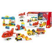 Bộ lắp ghép sân bay vui nhộn 88 chi tiết Toys House 77006