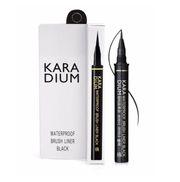 Bút kẻ mắt lâu trôi Karadium Waterproof Brush Liner Black
