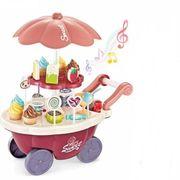 Đồ chơi xe đẩy bán kem có nhạc BBT Global