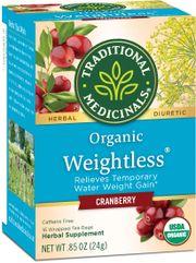 Trà thảo mộc Organic Weightless Cranberry hỗ trợ giảm cân