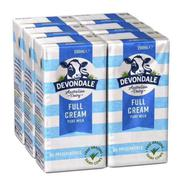 Sữa tươi Devondale Úc nguyên kem thùng 24 hộp x 200ml