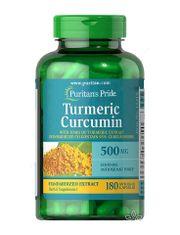 Tinh chất nghệ vàng Curcumin Puritan's Pride 500mg của Mỹ