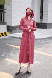 Áo chống nắng toàn thân Cardina 2 lớp cho nữ