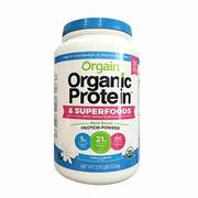 Bột protein hữu cơ Orgainic Protein & Superfoods