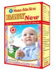 Mama Sữa Non Baby New cho trẻ biếng ăn, hỗ trợ tăng đề kháng