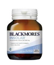 Viên uống đẹp da Blackmores Insolar High Dose Vitamin B3 500mg