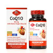 Viên uống hỗ trợ tim mạch CoQ10 60mg Olympian Labs của Mỹ