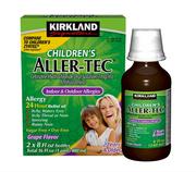 Siro hỗ trợ ngừa dị ứng Kirkland Signature Children's Aller-Tec