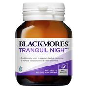 Viên uống hỗ trợ giấc ngủ Blackmores Tranquil Night