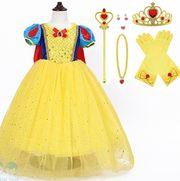 Đầm công chúa bạch tuyết cho bé gái kèm áo choàng