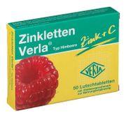 Viên ngậm Zinkletten Verla hỗ trợ bổ sung Kẽm và vitamin C