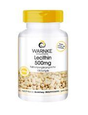 Viên uống mầm đậu nành Warnke Vitalstoffe Lecithin 500mg