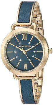 Đồng hồ Anne Klein Women's AK/2436BLGB Gold-Tone and Blue 30mm