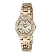 Đồng hồ nữ Armitron 75 5332MPGP mầu vàng đính đá