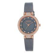 Đồng hồ nữ Armitron 75 5455GYRGGY dây da xanh gh