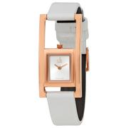 Đồng hồ nữ Calvin Klein K4H436L6 dây da trắng