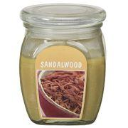 Hũ nến thơm tinh dầu Bolsius 305g QT024373 gỗ đàn hương