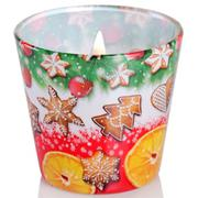 Ly nến thơm tinh dầu Bartek 115g QT028600 hương bánh cam