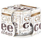 Ly nến thơm tinh dầu Bispol 100g QT024793 cà phê capuchino