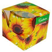Ly nến thơm tinh dầu Admit 100g QT026987 hoa hướng dương
