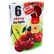 Hộp 6 nến thơm tinh dầu Tealight QT026087 quả anh đào