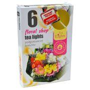 Hộp 6 nến thơm tinh dầu Tealight QT026099 hồng, mộc lan