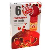 Hộp 6 nến thơm tinh dầu Tealight QT026060 gỗ đàn hương