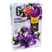Hộp 6 nến thơm tinh dầu Tealight QT026051 hoa phi yến