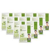 Mặt Nạ Dưỡng Chất Tinh Dầu Olive Collagen Dermal 10 Miếng