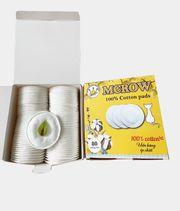 Bông Tẩy Trang Mcrow Xuất Xứ Hàn Quốc Hoàn Toàn Từ Cotton